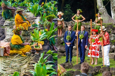 President Macron's visit to the Marquesas Islands: A Powerful Demonstration of the 'EnanaCulture